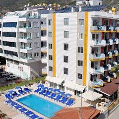 Kleopatra Arsi Hotel Турция, Аланья - 4 отзыва об отеле, цены и фото номеров - забронировать отель Kleopatra Arsi Hotel онлайн бассейн фото 2