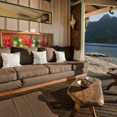 Отель Robinson's Cove Villas - Deluxe Wallis Villa Французская Полинезия, Муреа - отзывы, цены и фото номеров - забронировать отель Robinson's Cove Villas - Deluxe Wallis Villa онлайн комната для гостей фото 2