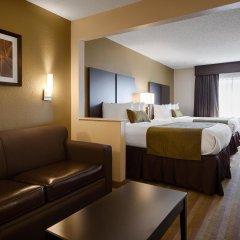 Отель Comfort Suites Hilliard Хиллиард комната для гостей фото 5