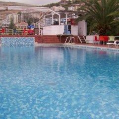 Отель Grand Saranda Албания, Саранда - отзывы, цены и фото номеров - забронировать отель Grand Saranda онлайн бассейн фото 2