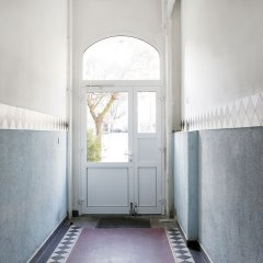 Апартаменты RockChair Apartment Blissestraße Берлин фитнесс-зал