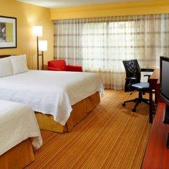 Отель Courtyard Columbus Airport США, Колумбус - отзывы, цены и фото номеров - забронировать отель Courtyard Columbus Airport онлайн комната для гостей фото 2