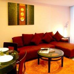 Отель Seven Place Executive Residences Бангкок комната для гостей