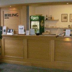 Отель Berling Hotel Швеция, Карлстад - отзывы, цены и фото номеров - забронировать отель Berling Hotel онлайн интерьер отеля