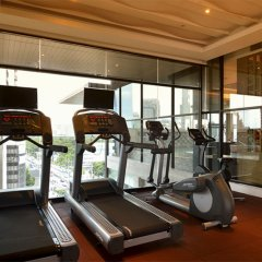 Отель AETAS lumpini фитнесс-зал фото 2