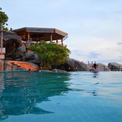 Отель Koh Tao Hillside Resort бассейн