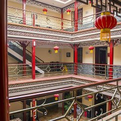 Beijing Hyde Courtyard Hotel интерьер отеля