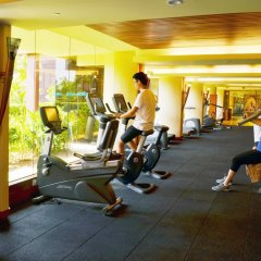 Отель Shangri-La's Rasa Sayang Resort and Spa, Penang Малайзия, Пенанг - отзывы, цены и фото номеров - забронировать отель Shangri-La's Rasa Sayang Resort and Spa, Penang онлайн фитнесс-зал фото 3