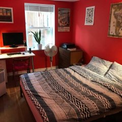 Отель Modern 1 Bedroom Flat in Battersea комната для гостей