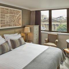 Отель Intercontinental Edinburgh the George 5* Улучшенный номер с двуспальной кроватью фото 3