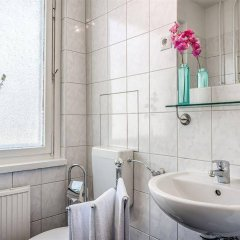 Отель Alexanderplatz Apartments Германия, Берлин - отзывы, цены и фото номеров - забронировать отель Alexanderplatz Apartments онлайн ванная фото 2