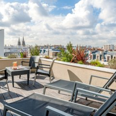Отель Citadines Republique Paris балкон