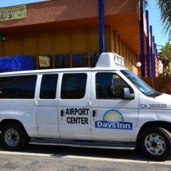 Отель Days Inn Airport Center LAX городской автобус