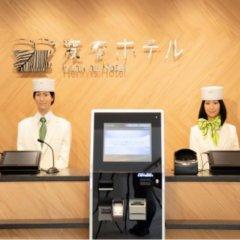 Отель Henn na Hotel Tokyo Akasaka Япония, Токио - отзывы, цены и фото номеров - забронировать отель Henn na Hotel Tokyo Akasaka онлайн интерьер отеля фото 2