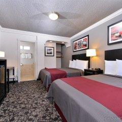 Отель Americas Best Value Inn - Dodger Stadium/Hollywood Лос-Анджелес удобства в номере