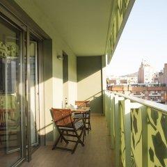 Отель Aura Park Fira Barcelona балкон