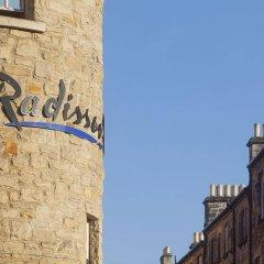 Radisson Blu Hotel, Edinburgh City Centre Эдинбург балкон