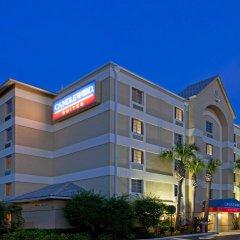 Отель Candlewood Suites Fort Lauderdale Airport-Cruise США, Форт-Лодердейл - отзывы, цены и фото номеров - забронировать отель Candlewood Suites Fort Lauderdale Airport-Cruise онлайн вид на фасад фото 3
