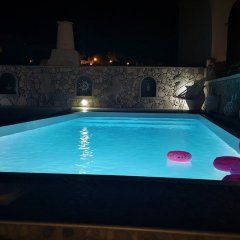 Отель Villa Pavlina Греция, Остров Санторини - отзывы, цены и фото номеров - забронировать отель Villa Pavlina онлайн бассейн фото 2