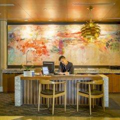 Отель Ascott Raffles Place Singapore интерьер отеля