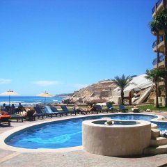 Отель Beachfront Las Olas 2bdr Condo бассейн фото 2