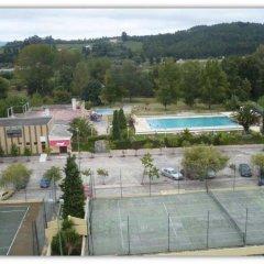 Апартаменты Curia Clube Apartments спортивное сооружение
