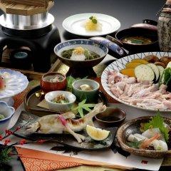 Отель Yufu Ryochiku Хидзи питание фото 2