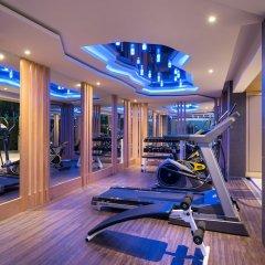 Rodina Beach Hotel фитнесс-зал фото 4