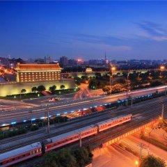Отель Hongrui Business Hotel Xi'an Airport Китай, Сяньян - отзывы, цены и фото номеров - забронировать отель Hongrui Business Hotel Xi'an Airport онлайн балкон