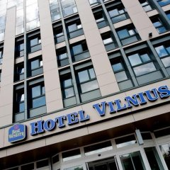Отель Best Western Vilnius Вильнюс вид на фасад фото 2