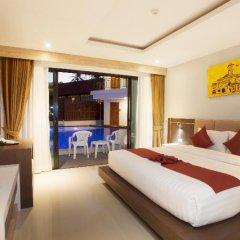 Отель Paripas Patong Resort 4* Стандартный номер с разными типами кроватей фото 3