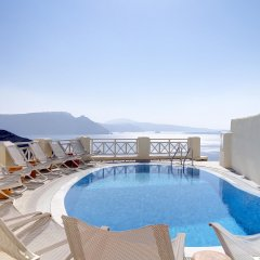 Mystique, a Luxury Collection Hotel, Santorini бассейн фото 2