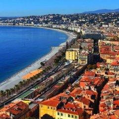 Отель Kyriad Nice Port Франция, Ницца - - забронировать отель Kyriad Nice Port, цены и фото номеров пляж фото 2