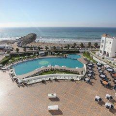 Отель Grand Mogador SEA VIEW Марокко, Танжер - отзывы, цены и фото номеров - забронировать отель Grand Mogador SEA VIEW онлайн пляж