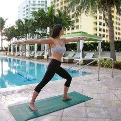 Отель Conrad Miami фитнесс-зал