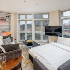 Отель 1 Bedroom Penthouse in Farringdon Великобритания, Лондон - отзывы, цены и фото номеров - забронировать отель 1 Bedroom Penthouse in Farringdon онлайн комната для гостей фото 3