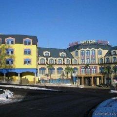Hotel Babylon Либерец парковка