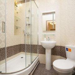 Апартаменты Apartment Etazhy Sheynkmana Kuybysheva Екатеринбург ванная