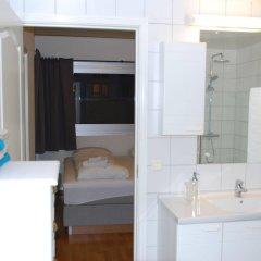 Отель Tromsø Apartments Норвегия, Тромсе - отзывы, цены и фото номеров - забронировать отель Tromsø Apartments онлайн ванная фото 2