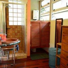 Отель Maison Te Vini Holiday home 3 Французская Полинезия, Пунаауиа - отзывы, цены и фото номеров - забронировать отель Maison Te Vini Holiday home 3 онлайн фитнесс-зал