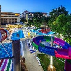 Отель Laguna Park & Aqua Club - All Inclusive Болгария, Солнечный берег - отзывы, цены и фото номеров - забронировать отель Laguna Park & Aqua Club - All Inclusive онлайн бассейн фото 2