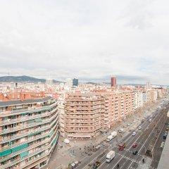 Апартаменты Montaber Apartments - Plaza España Барселона балкон