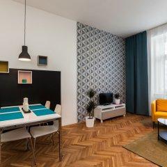 Отель Comfortable Prague Apartments Чехия, Прага - отзывы, цены и фото номеров - забронировать отель Comfortable Prague Apartments онлайн комната для гостей фото 3