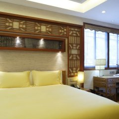 Mahayana OCT Boutique Hotel Shenzhen комната для гостей