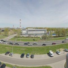 Отель Как дома, квартира на ул. Родионова д. 191 Нижний Новгород балкон