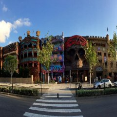 Отель Gran Santa Ponsa парковка