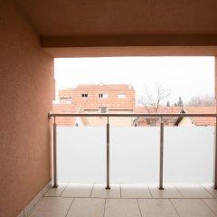 Отель Апарт-Отель Lala Luxury Suites Сербия, Белград - отзывы, цены и фото номеров - забронировать отель Апарт-Отель Lala Luxury Suites онлайн балкон