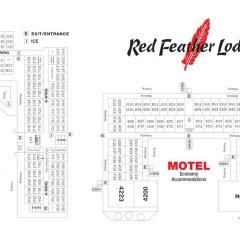 Отель Red Feather Lodge городской автобус