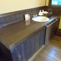 Отель Sansou Tanaka Хидзи ванная