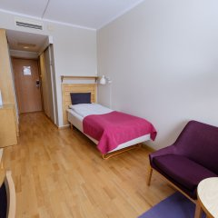 Отель Voksenaasen сейф в номере